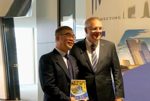 澳大利亚总理斯科特·莫里森接见澳优澳洲总经理Joe周建华,1.jpg