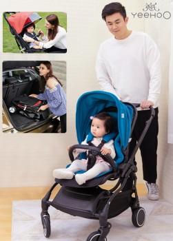 安全、舒适、时尚,知名婴童英氏品牌打造优质婴儿推车